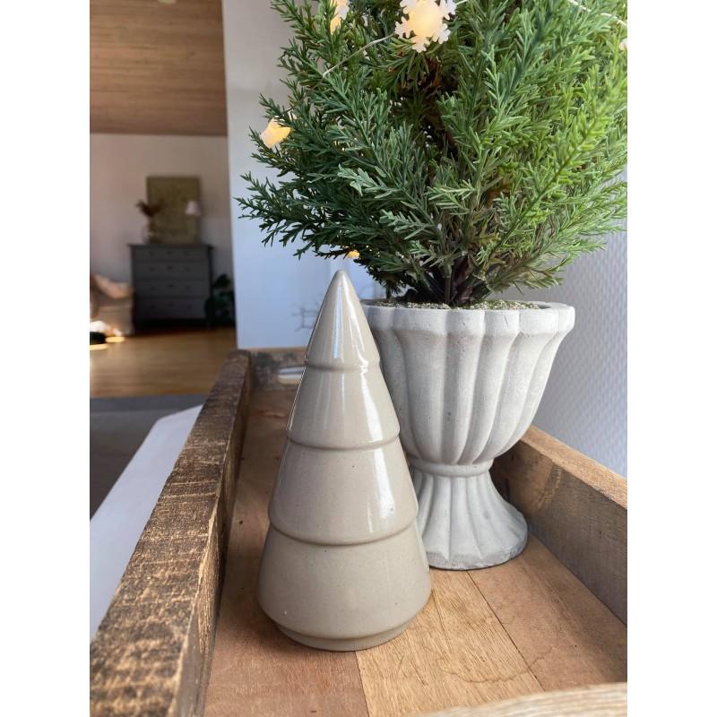 Porcelæn juletræ - Mellem