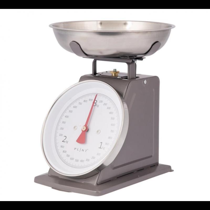 Retro køkkenvægt i grå