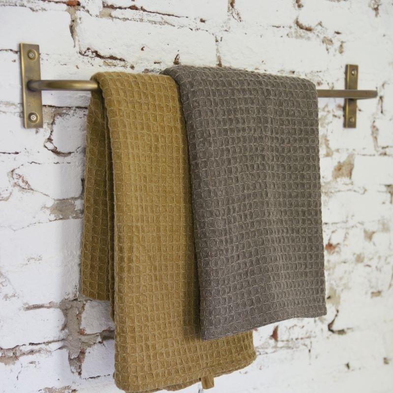 Håndklædestang - Messing