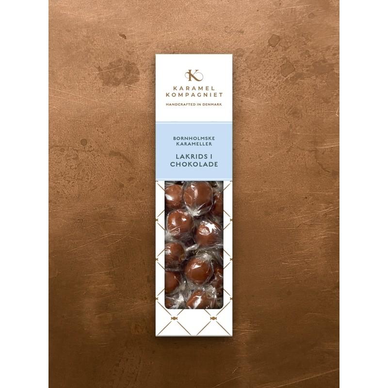 Lakridskaramel med chokolade - Karamel Kompagniet