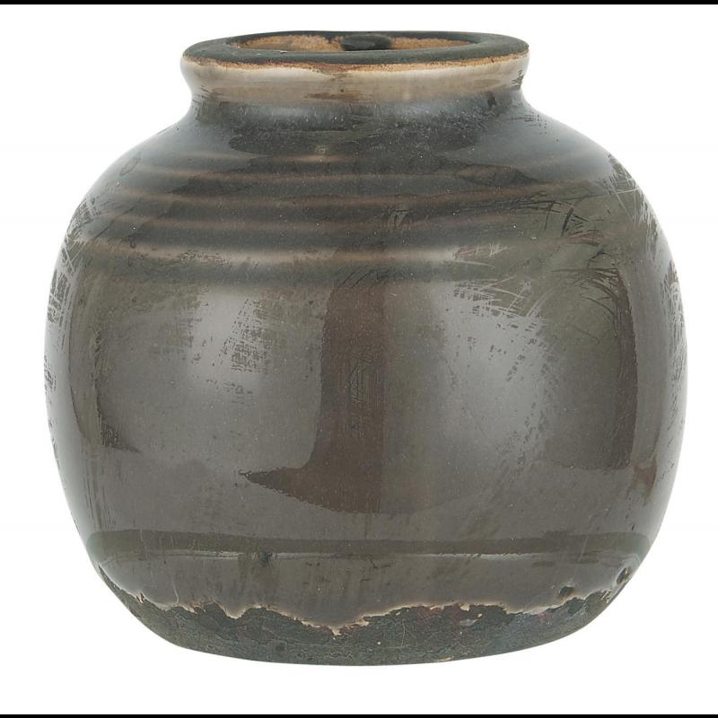 Mini vase med riller