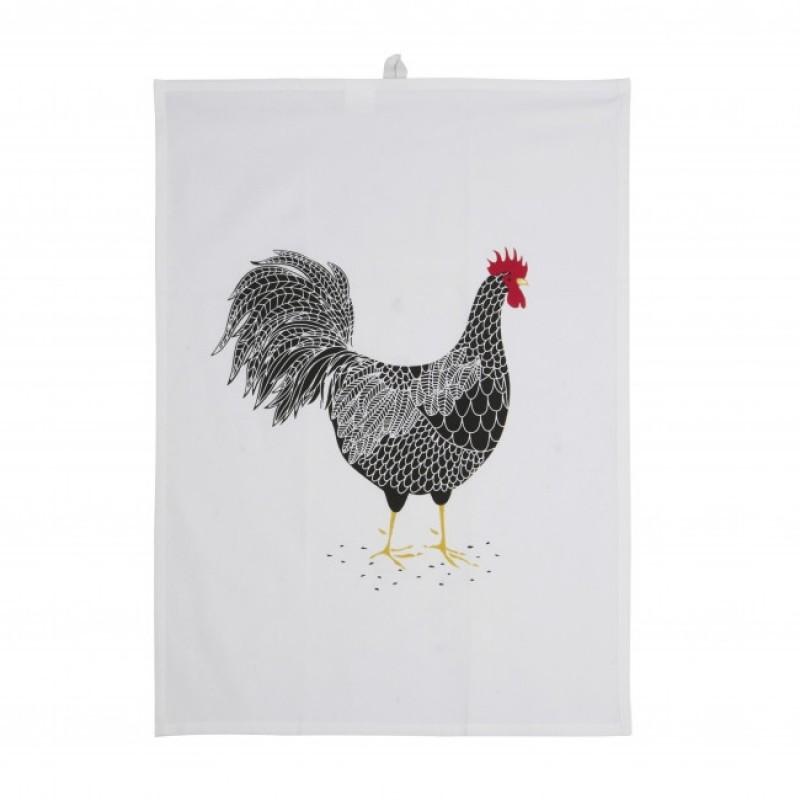 Viskestykke - Sort hane