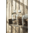Apotekerglas med glaslåg