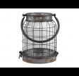 Factory lanterne i antique zink