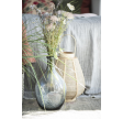 Glas vase i grå glas
