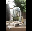 Glasklokke i klar glas