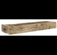 Aflang træbakke med greb - UNIKA