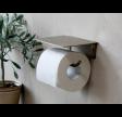 Toiletpapirholder i messing