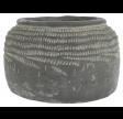 Cement krukke med riller - Cleopatra