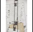 Kæde med clips - Mørk metal