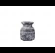 Rustik vase eller krukke i cement