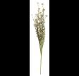 Plastik blomster stilk i hvide og grønne nuancer