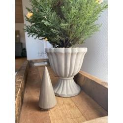 Porcelæn juletræ - Lille