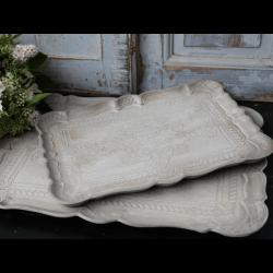 Bakke med indgraveret mønster - Lille
