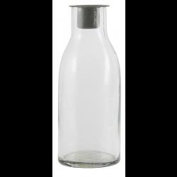 Flaske til bedelyse med løs zink lysindsats