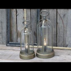 Fransk kuppel lanterne incl. pære