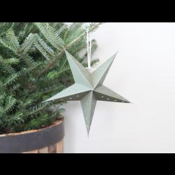 Papirstjerne i grøn