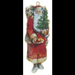 Julemand til ophæng i metal