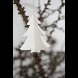 Juletræspynt juletræ papir