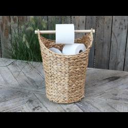 Kurv med toiletpapirholder