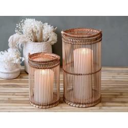 Lanterne i bambus - Lille
