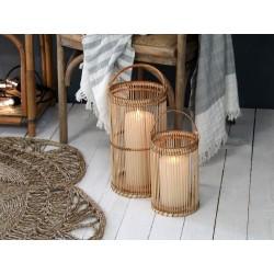 Lanterne i bambus - Stor