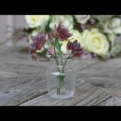 Lille vase i glas