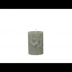 Mason rustikt bloklys - 40 timer - Oliven grøn
