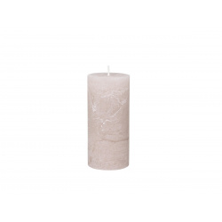Mason rustik bloklys - 60 timer- Støvet rosa