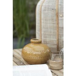 Vase krakeleret glasur